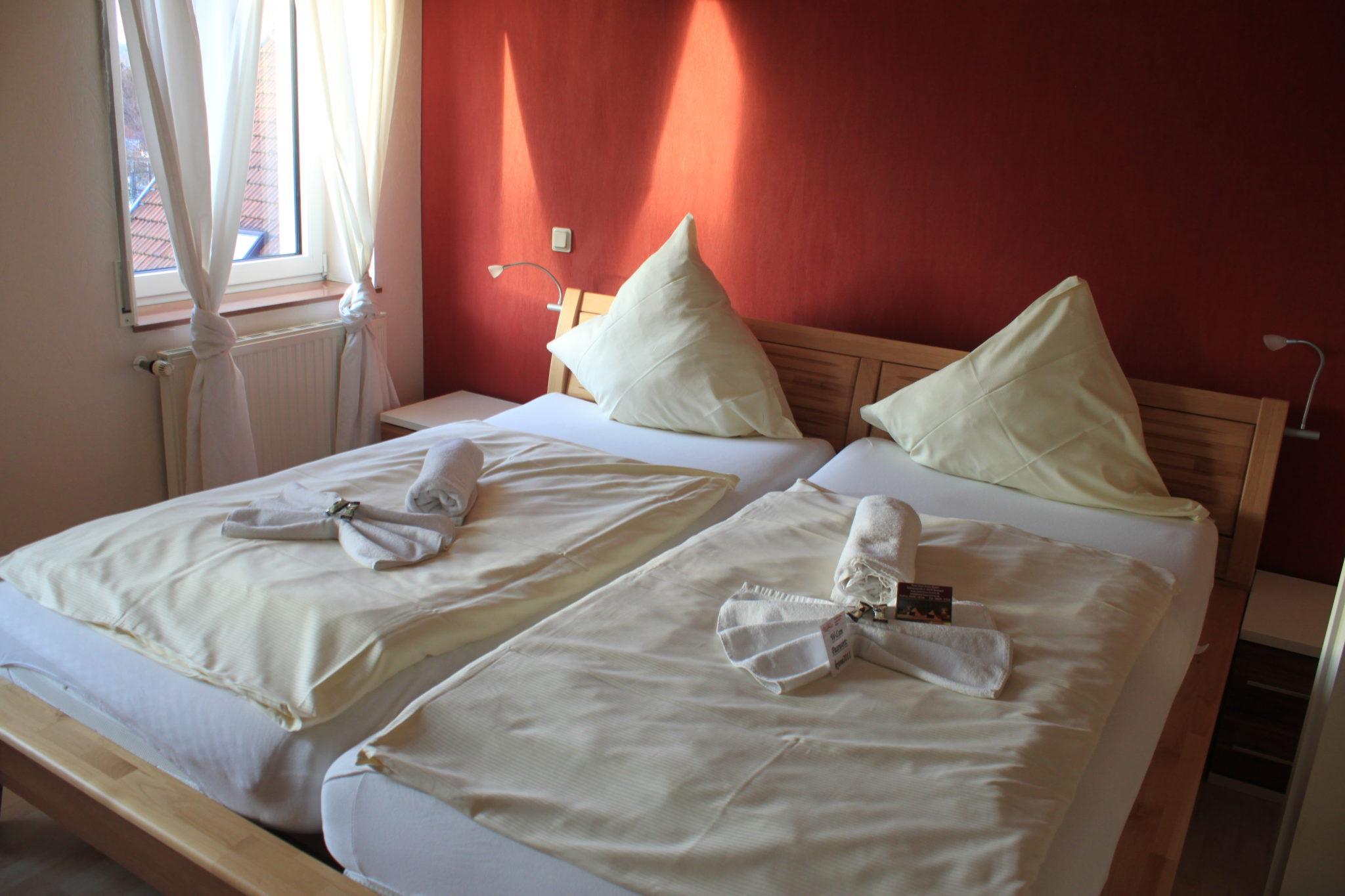 Bild vom Doppelimmer des De Luxe Apartment